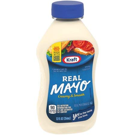 Kraft Real Mayonnaise 12 fl. oz. Bottle - 5 Pack