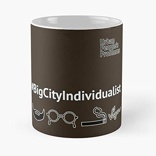 Bigcity Lifestyle Individually Individualist - Mugs Funny Gifts For Holiday-11 Oz