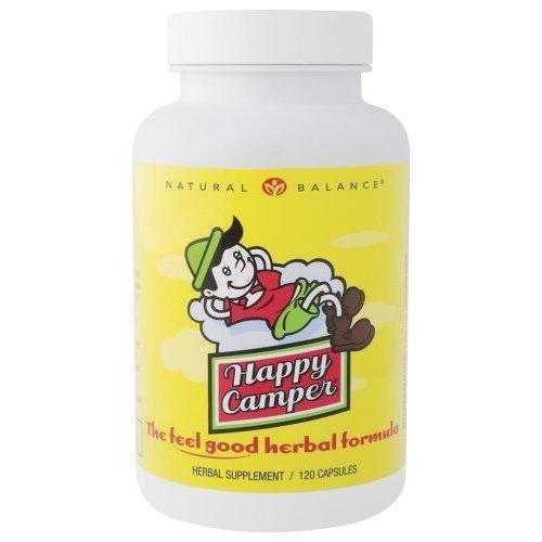 Natural Balance Happy Camper, 120-Vegetarian Capsules - Happy Camper Herbal