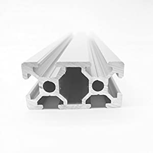 4pc 2040 600mm CNC 3D Printer Parts European Standard Anodized Linear Rail Aluminum Profile Extrusion for DIY 3D printer by Ogry