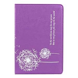 conseguir Patrón Dandelion soporte de la cubierta del caso de cuero elegante de la PU para el ipad mini (colores surtidos) , Rose
