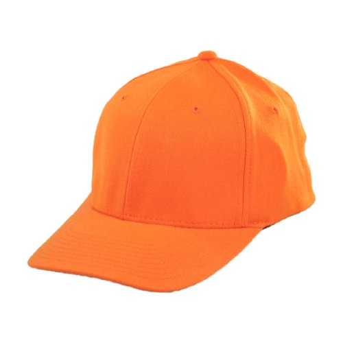 Flexfit Baseball Cap (L/XL, Orange)