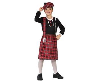 f4a3c8fe61f88 Atosa - 23605 - Costume - Déguisement D écossais - Garçon - Taille 2 ...