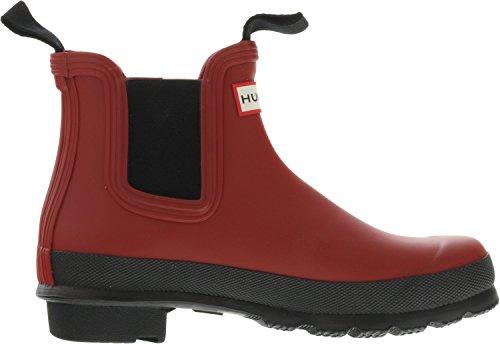 Two Original Boot High Women's Top Hunter Rain Tone Rubber Chelsea Red Military xS45wa