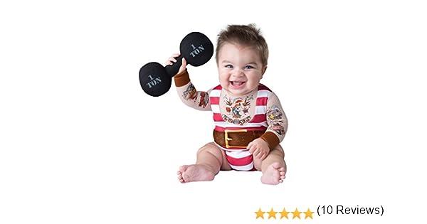 Disfraz de forzudo de circo para bebé: Amazon.es: Juguetes y juegos