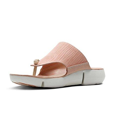 10 Womens Size Sandal CLARKS Pink Carmen Tri Nubuck Tq4wzvF