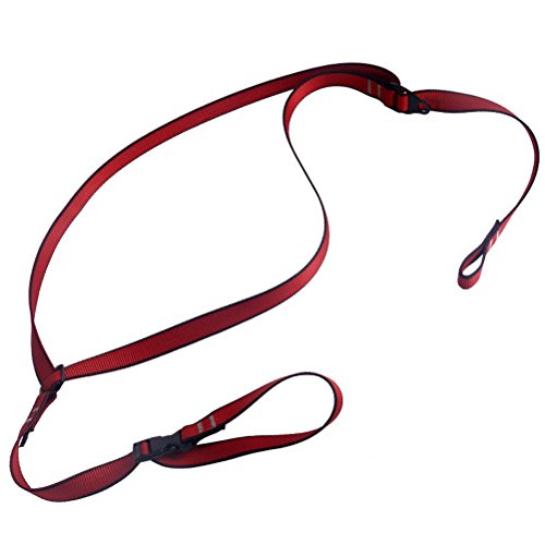 Newdoar Chest Ascender Fixed Belt Shoulder Strap Seat Belts Sling by Newdoar