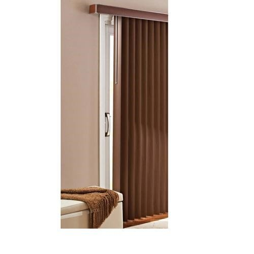 Better Homes And Gardens Vertical Blinds, Printed Chestnut