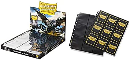 50 Clear Dragon Shield 24 Pocket Pages