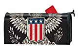 KSLIDS Eagle Mailbox Cover - Anti - Fading and Weather Resistance - 9 x 21 Inches