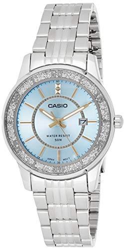Casio Enticer Analog Blue Dial Women #39;s Watch   LTP 1358D 2AVDF  A804
