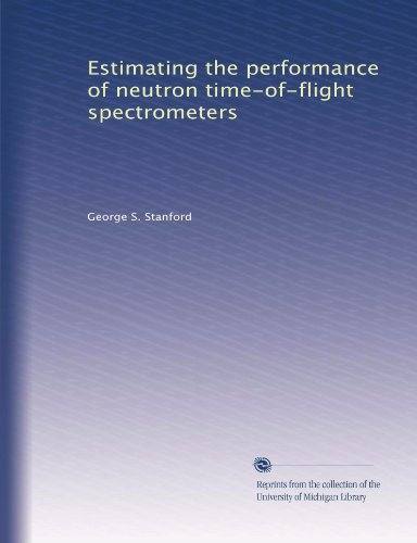 Estimating the performance of neutron time-of-flight spectrometers