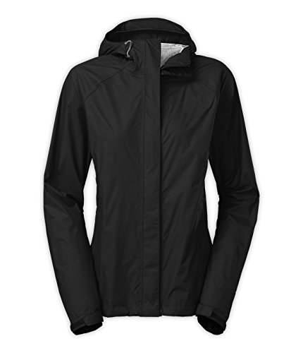 Diamond Candy Women's Outdoor Packable Rain Jacket W032BS (Black Diamond Pullover)
