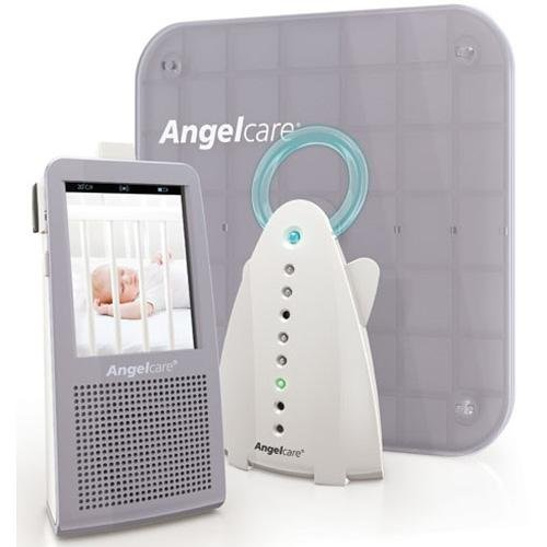 Angelcare 3-in-1 Video Movement Sensor & Sound Baby Monitor 1100-A-US-1GB w/ Video Angelcare