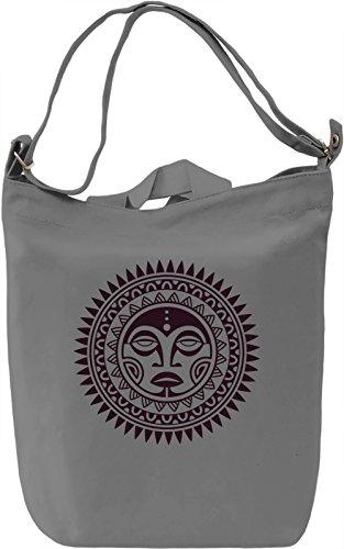 Tribal Borsa Giornaliera Canvas Canvas Day Bag| 100% Premium Cotton Canvas| DTG Printing|