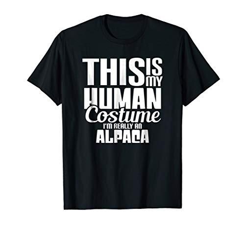 I'm Really An Alpaca Halloween Costume shirt Funny gift idea -