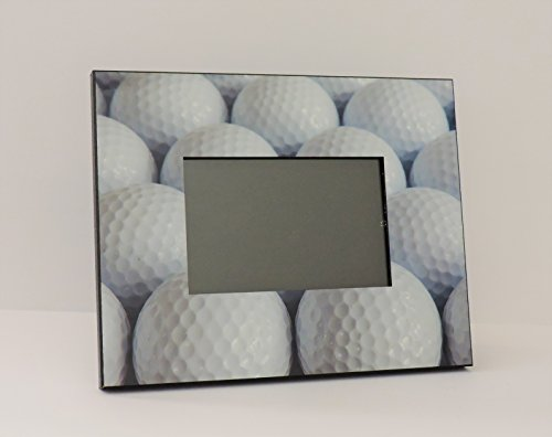 "Golf Fan-Lover Gift Photo Frame Great Design 10x8"" holds 4x6"" Photo for Golfers (Landscape Holds 6x4"" Photo)"