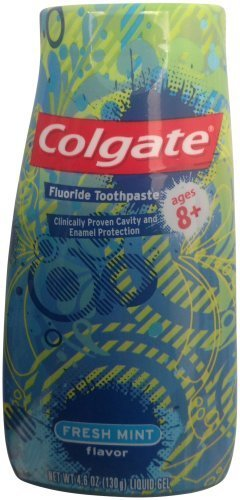 luoride Toothpaste, Fresh Mint, 4.6-ounce (Pack of 6) ()