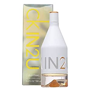 Calvin Klein Perfume  - CK IN2U by Calvin Klein - perfumes for women - Eau de Toilette, 100 ml