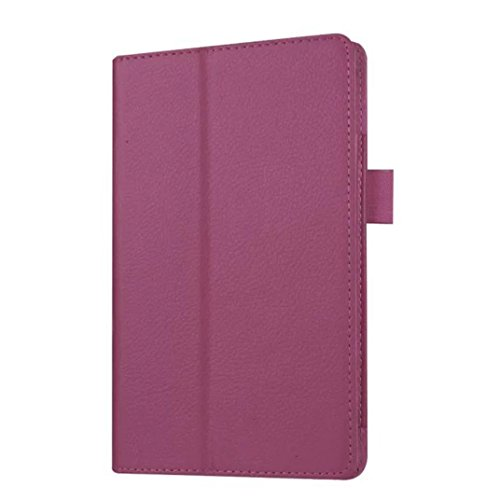 Photo - For Kindle accessories,Kshion Leather Case Stand Cover Shockproof Protective Case Cover [Anti Slip] for Amazon Kindle Fire HD 7 2015 Tablet (Purple)