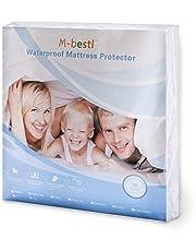 M-bestl Luxury Waterproof Mattress Protector,Mattress Cover,100% Waterproof and Breathable,Deep Pocket,10 Years Warranty