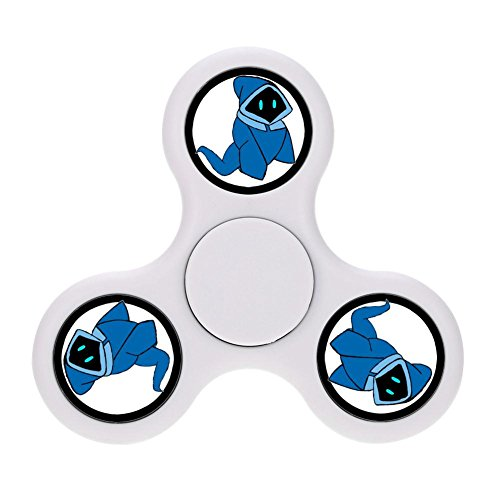 Adult Devil Smoking Halloween Costumes (Fidget Spinner halloween wearing blue ghost Tri-Spinner Hand Spinner EDC Focus Toys)