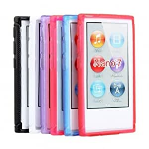 Succinct X Shaped Pattern Plastic Protective Case For iPod Nano 7 << Color::Purple >>