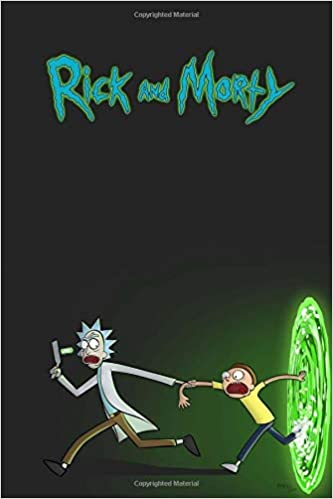 Rick And Morty Movie Notebook Perfect Birthday Gift For Boyfriend