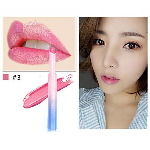 (LiboboLadies Beauty Makeup Waterproof Sexy Hydrating Long Lasting Lip Gloss Lipstick (C))