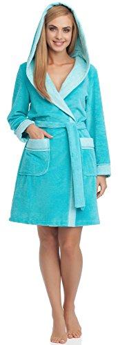Merry Style Mujer Albornoz 13011 Azul Cielo