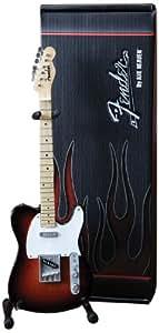 Axe Heaven FT-002 Fender Telecaster 3-Color Sunburst Miniature Guitar