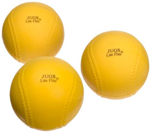 Jugs Lite-Flite Baseballs (One Dozen)