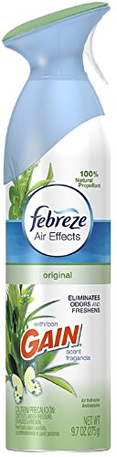 9.7 Ounce Air Effects - Febreze Air Effects Air Refresher, Gain Original Scent 9.70 oz (Pack of 12)