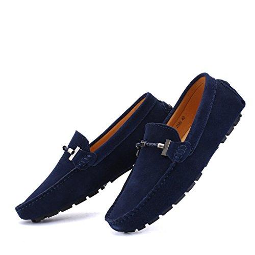Penny Eagsouni® 1bleu Foncé Casual Loafers Chaussures Daim Ville Hommes Mocassins Bateau De Flats qBZBtp