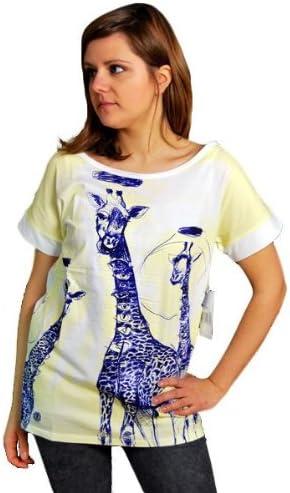 ELEMENT SHIRT GIRAFFEYES T-SHIRT WHITE LISA SOLBERG