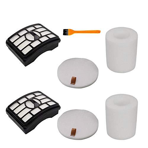 h Life Filters Kit for Shark Rotator Pro Lift-Away NV502 NV552 UV560 NV510 Vacuum Replace Shark Filters Accessories Part XFF500 & XHF500 (Shark Nv502 Best Price)