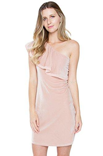 lvet One Shoulder Dress - L ()