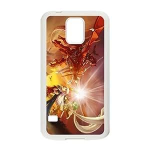 Caja del teléfono Samsung Galaxy S5 Funda Blanca Fire Emblem The Sacred Stones L6R3KO Fundas Caja del teléfono