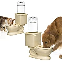 CSB Toilet Bowl Dog and Cat Fountain by CSB