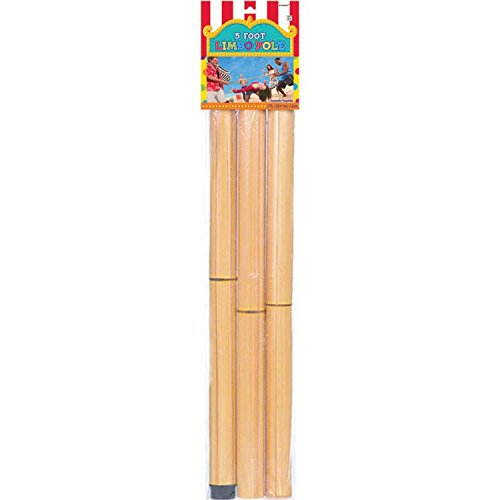 Carnival Fair Fun Limbo Pole Game Party Activity, Plastic , 5'