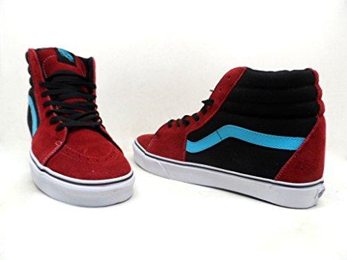 e2d1b5107bc8 Vans Men s Sk8-Hi Suede Canvas Skateboard Shoes Scuba Chili Pepper Size 13  New - Buy Online in UAE.
