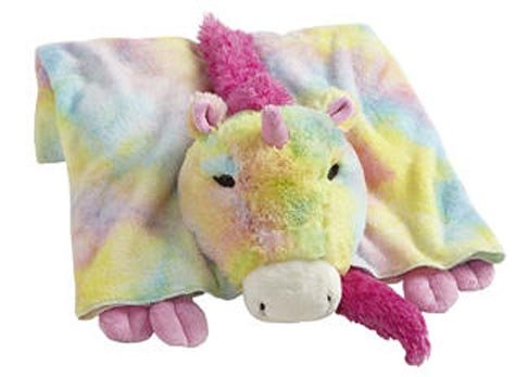 My Pillow Pets Premium Rainbow Unicorn Blanket CJ Pillow Pets C16657B