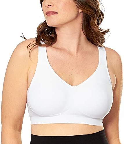 SHAPERMINT Comfort Wirefree High Support Bra for Women Small to Plus Size Everyday Wear, Exercise and Offers Back Support