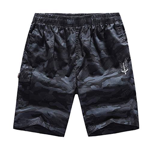 Hattfart Men's Sportwear Quick Dry Board Shorts with Lining