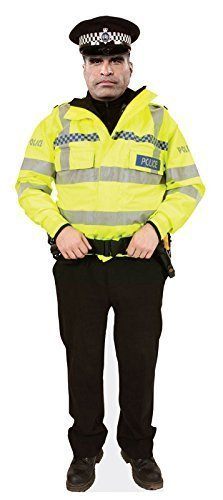 PC Dixon Standee Stand Up. 4 different designs Police Constable Cardboard Cutout