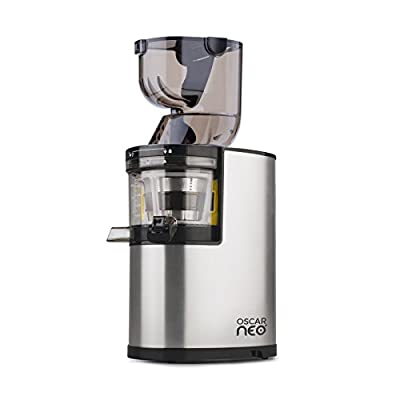 Oscar Neo XL Whole Slow Juicer - Powerful 250w Motor & 8cm Wide Chute for Whole Fruits & Vegetables - Lifetime Motor Warranty / 5 Yrs Parts + 3 Yr Commercial