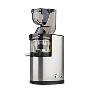 Oscar Neo XL400 - Professional 400W Whole Slow Juicer, Stainless Steel Finish - with Wide Feed ...