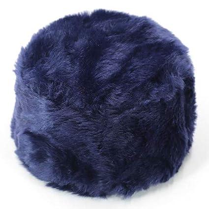 5d4497c859856 Amazon.com  Blue Stones Winter Hats for Ladies Bomber Hat Fluffy Faux Fox  Fur Red Warm Earflap Cap Windproof Women Thicker Russian Ushanka Hat Black   ...