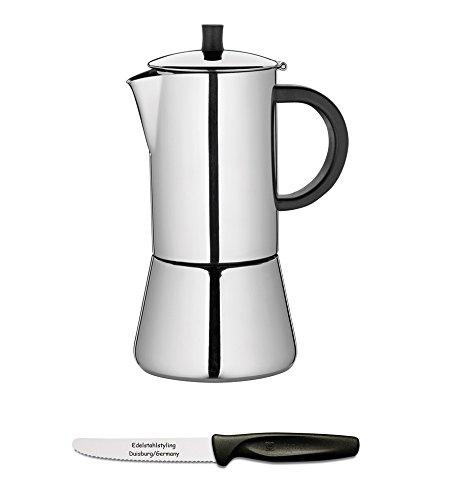 Cilio Figaro 342222 - Cafetera 10 tazas Pulido + Juego de ...
