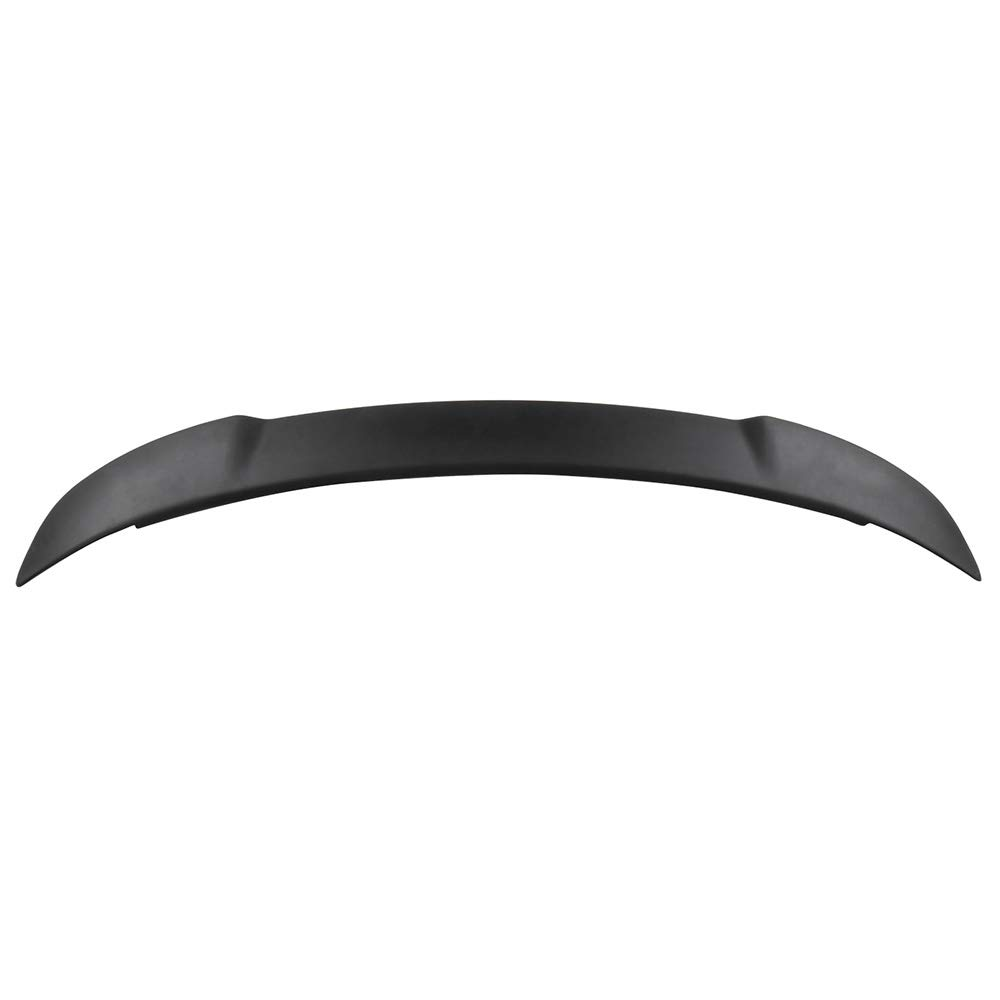SCITOO Replacement fit for Black Unpainted ABS Spoiler Wing 2011-2018 Dodge Charger Hellcat Style SRT 63.4 Inch x 13 Inch